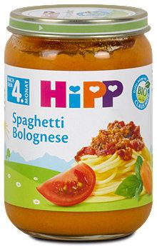 Hipp Menü Spaghetti Bolognese