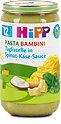 Hipp Menü Pasta Bambini Tagliatelle in Spinat-Käse-Sauce