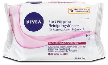 Nivea -3in-1 Pflegende Reinigungstücher