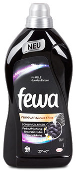 fewa Brilliant Black RE-NEW Black Effect Waschmittel