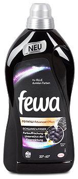 fewa renew Waschmittel für alle dunkle Farben
