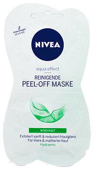 Nivea aqua effect Reinigende Peel-off Maske