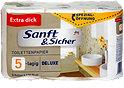 Sanft&Sicher Toilettenpapier Deluxe Extra Dick