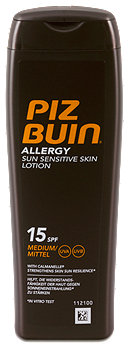 Piz Buin Allergy Sun Sensitive Skin Sonnenlotion LSF 15