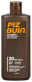 Piz Buin Allergy Sun Sensitive Skin Sonnenlotion LSF 30
