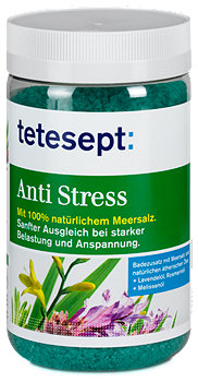 tetesept Anti Stress Meersalz Badezusatz