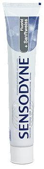 Sensodyne Fluorid + Sanftweiss Zahncreme