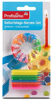 Profissimo Geburtstags-Kerzen-Set
