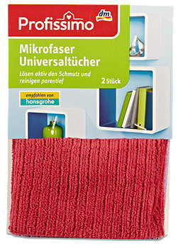Profissimo Mikrofaser Universaltücher sort.