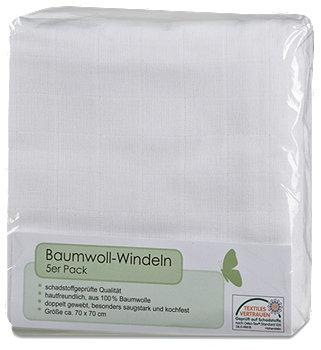 Baumwoll-Windeln