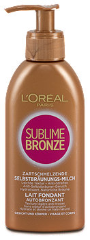 L'Oréal Sublime Bronze Selbstbräunungs-Milch