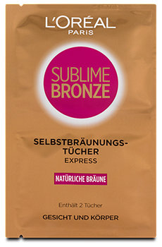 L'Oréal Paris Sublime Bronze Selbstbräunungstücher