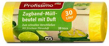 Profissimo Zugband-Müllbeutel mit Duft 30 Liter