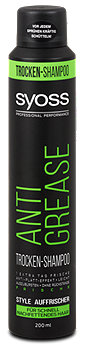 syoss Anti-Grease Dry Shampoo Trockenshampoo