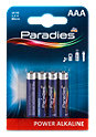 Paradies Power Alkaline AAA Batterie