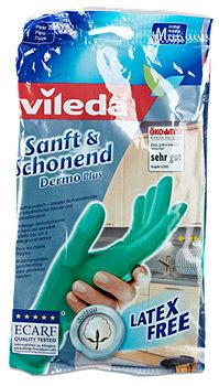 vileda Sanft & Schonend Dermo Plus Handschuhe Mittel