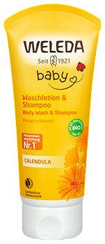 Weleda Baby Waschlotion & Shampoo Calendula