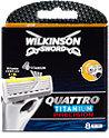 Wilkinson Sword Quattro Titanium Precision Rasierklingen