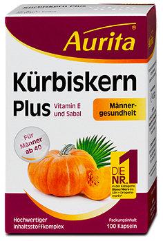 Aurita Kürbiskern Plus Kapseln