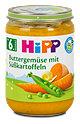 Hipp Babybrei Buttergemüse mit Süßkartoffeln