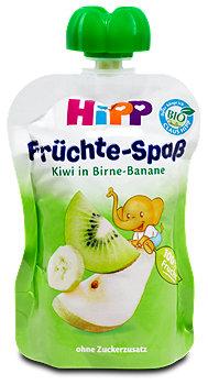 Hipp Früchte-Spaß Kiwi in Birne-Banane