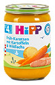 Hipp Menü Früh-Karotten mit Kartoffeln & Wildlachs