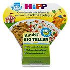 Hipp Kinder Bio Teller mit Gemüsereis & zartem Geschnetzelten