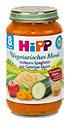 Hipp vegetarisches Menü Vollkorn-Spaghetti mit Gemüse-Sauce