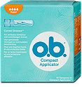 o.b. Compact Applicator Tampons Super