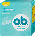 o.b. Compact Applicator Tampons mit Applikator Normal