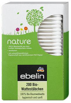 ebelin nature Bio-Wattestäbchen