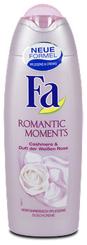 Fa Romantic Moments Duschcreme Cashmere & Weiße Rose