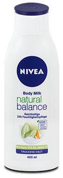 Nivea Body Milk natural balance Feuchtigkeitspflege