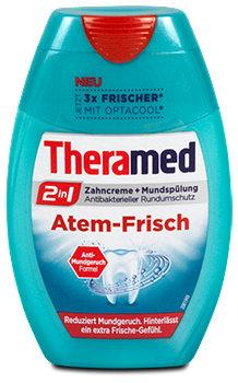 Theramed 2in1 Atem-Frisch Zahncreme + Mundspülung
