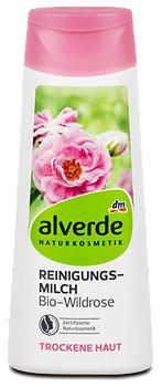 alverde Reinigungsmilch Bio-Wildrose