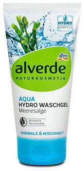 alverde Aqua Hydro Waschgel Meeresalge