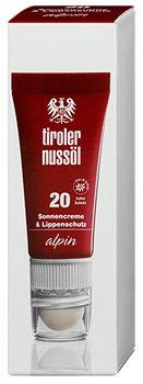 tiroler nussöl Sonnencreme LSF 20 & Lippenschutz LSF 30