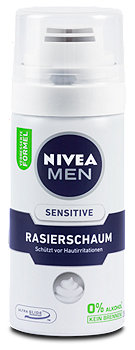 Nivea Men Sensitive Rasierschaum Mini