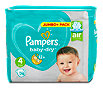 Pampers baby-dry Windeln Gr. 4 (8-16 kg) Jumbo+ Pack