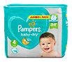 Pampers baby-dry Windeln Gr. 4 (8-16 kg) Jumbo+ Pack