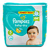 Pampers baby-dry Windeln Gr. 5 (11-23 kg) Jumbo+ Pack
