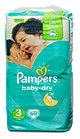Pampers baby-dry Windeln Gr. 3 (5-9 kg)