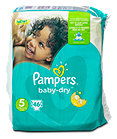 Pampers baby-dry Windeln Gr. 5 (11-23 kg)