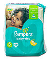 Pampers baby-dry Windeln Gr. 5 (11-23 kg)