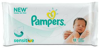 Pampers Feuchttücher sensitive