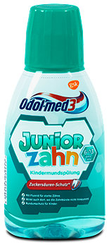 Odol-med3 Junior Zahn Kindermundspülung Fresh Mint