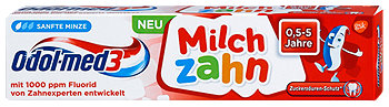 Odol-med3 Milchzahn Kinder Zahnpasta