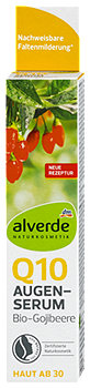 alverde Q10 Augenserum Bio-Gojibeere