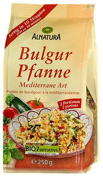 Alnatura Bulgur Pfanne mediterran
