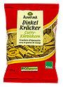 Alnatura Dinkel Kräcker Curry-Kürbiskern
